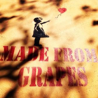 Made from grapes