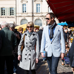 Susie and Peter, Beaune; credit Riviera Travel/Barry Coombs
