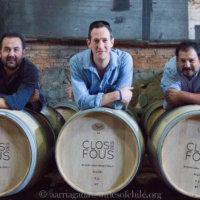 Peter Richards MW rolls out the barrels, credit Alvaro Arriagada