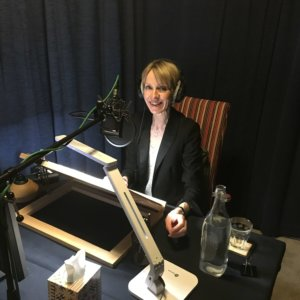 Susie Barrie MW recording for BBC Radio 4