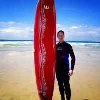 Surfing (Saturday Kitchen, Newquay)