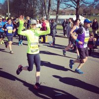 Susie runs Brighton marathon