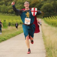 Bacchus half marathon, Denbies Wine Estate