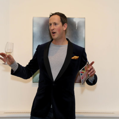Wine meets art - Peter Richards MW, credit: Lazinc