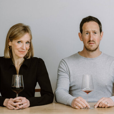 Susie Barrie and Peter Richards, Masters of Wine, credit Sam Gavins Photography